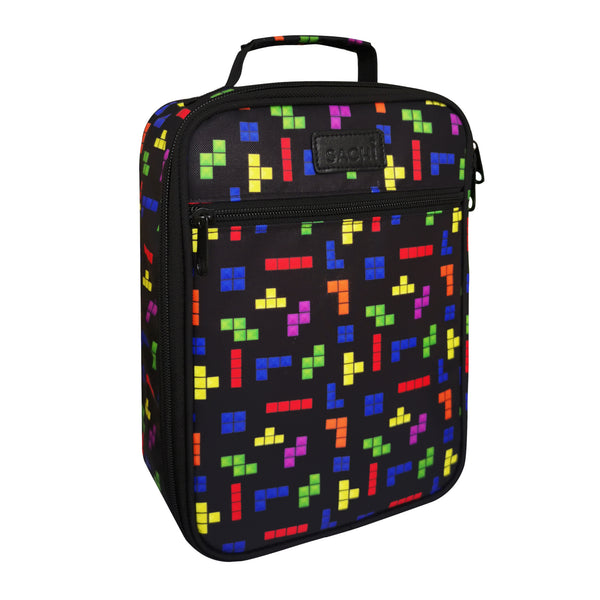 Sachi Insulated Lunch Bag - Tetris