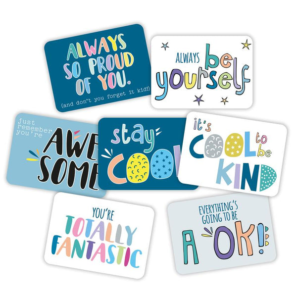 Too Cool For School - Lunch Box Note Cards