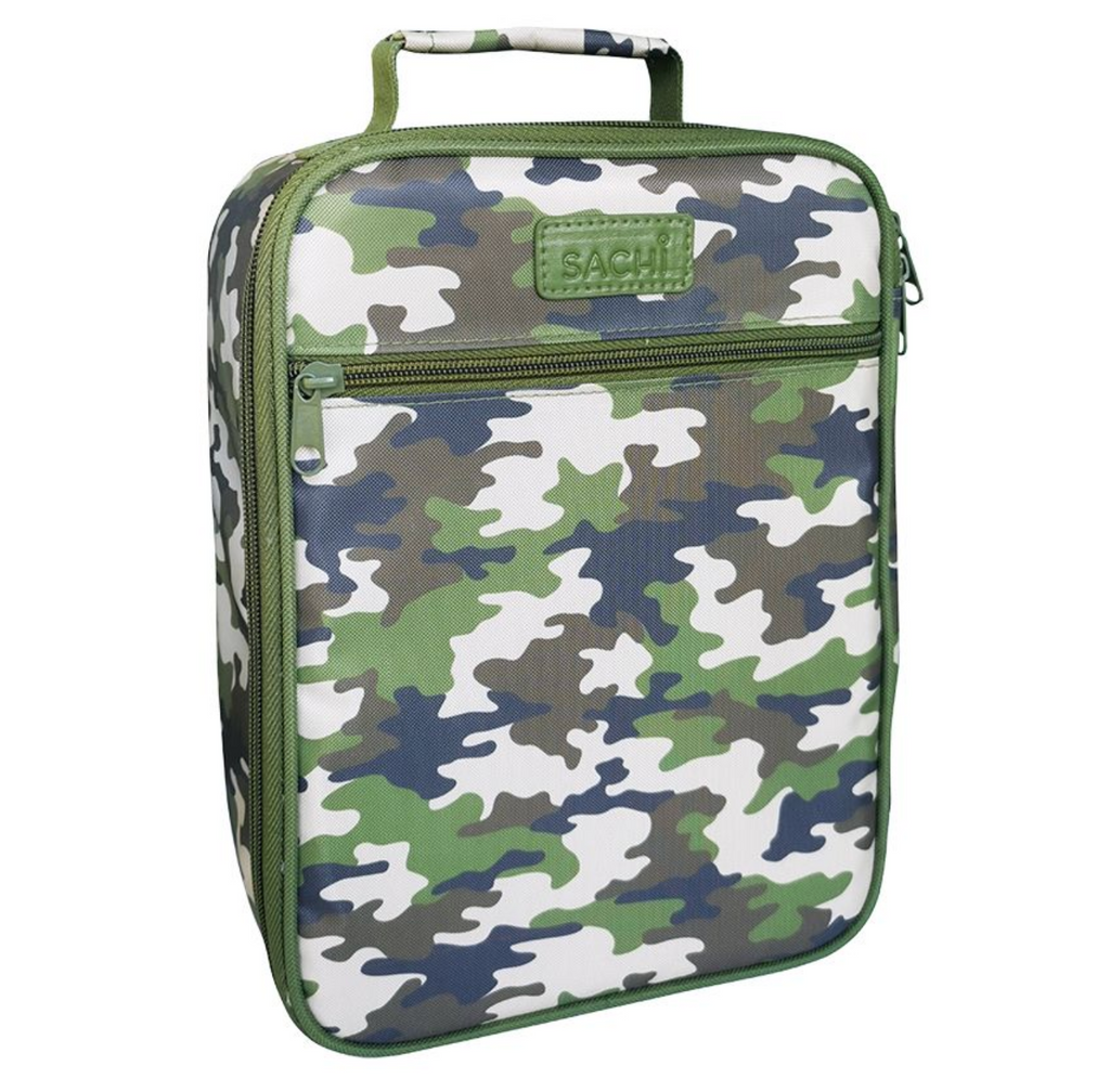 Sachi Insulated Lunch Bag - Camo Green