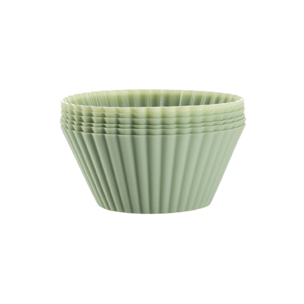 Seed & Sprout Silicone Muffin Cups - Sage Green