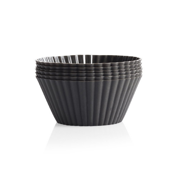 Seed & Sprout Silicone Muffin Cups - Grey