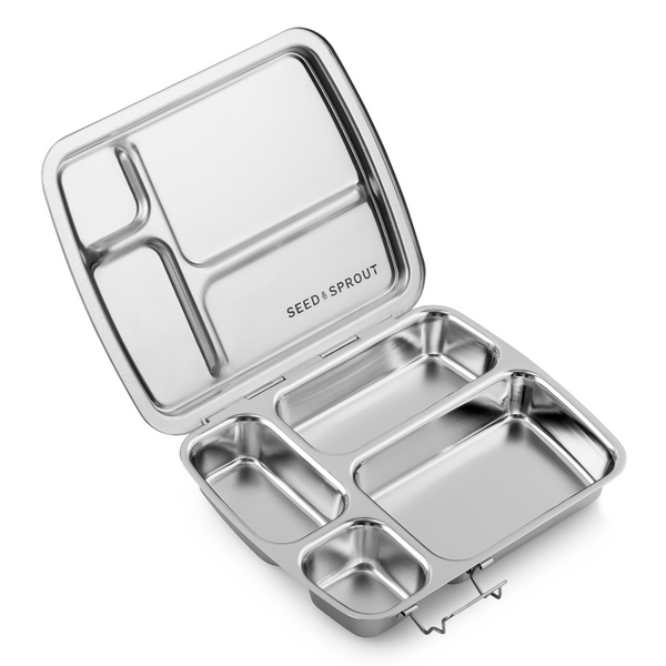 Seed & Sprout CrunchBox Stainless Steel Bento Box