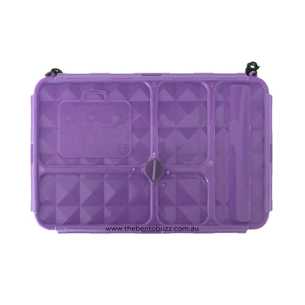 Go Green Lunch Box PURPLE - Small
