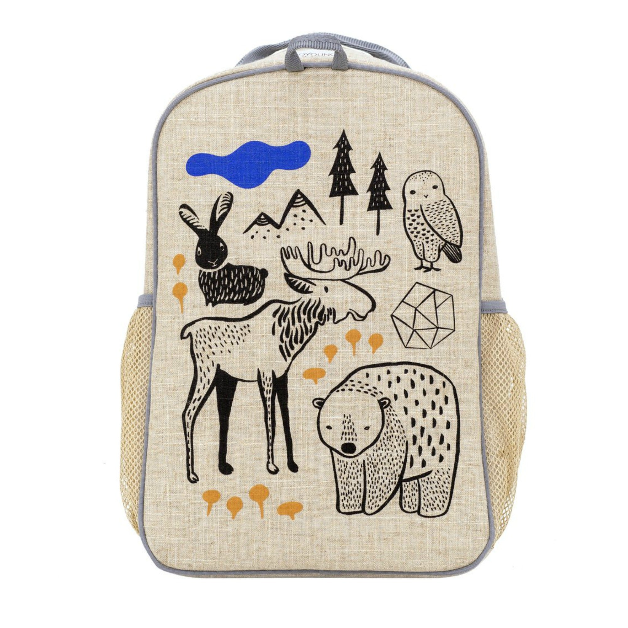 SoYoung Wee Gallery School Backpack - Nordic