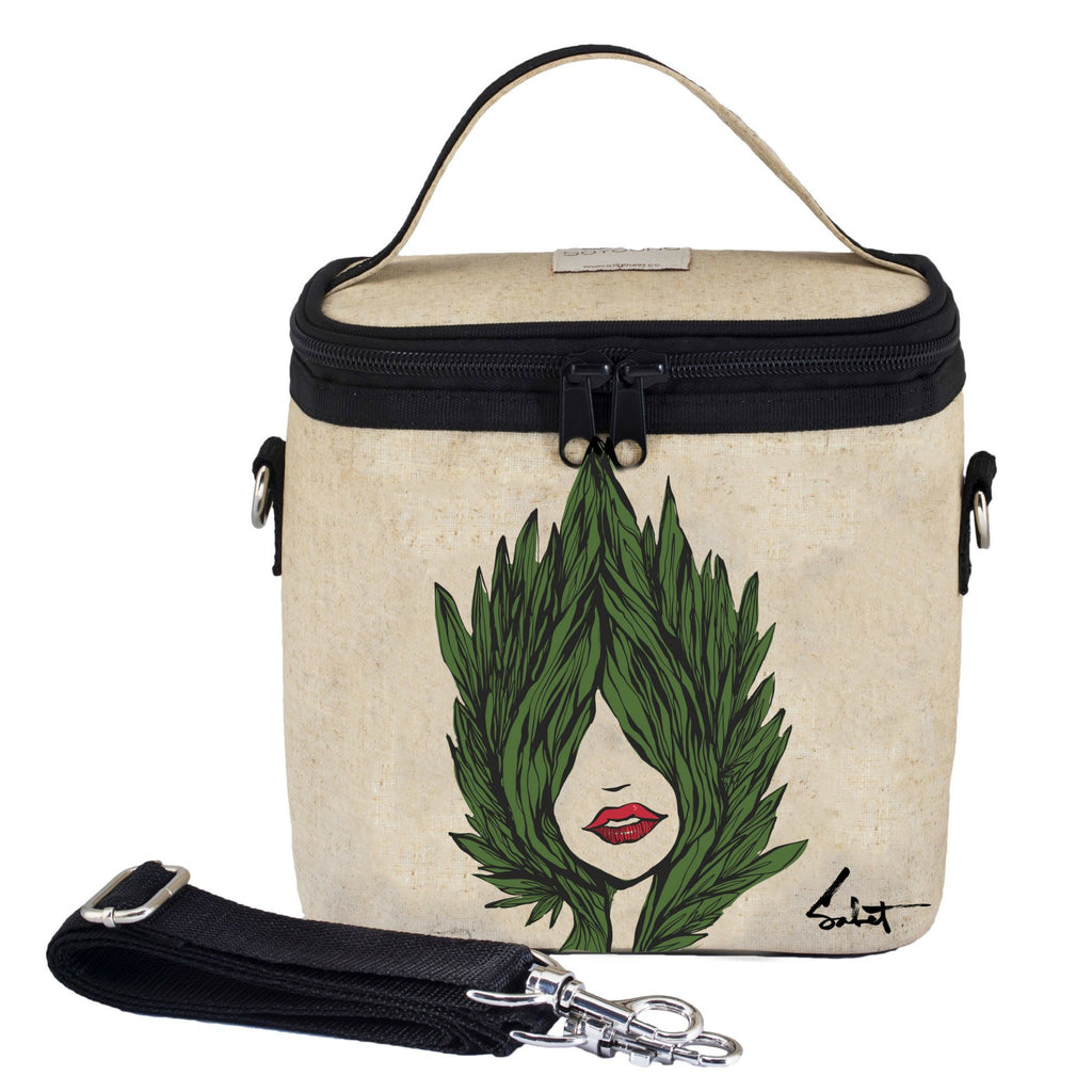 SoYoung LARGE Insulated Lunch Bag - Sabet Evergreen - LAST ONE!