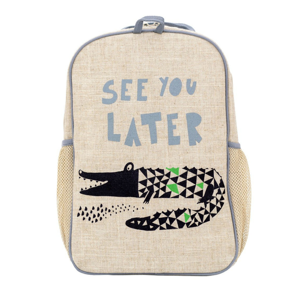 SoYoung Wee Gallery Backpack - Alligator