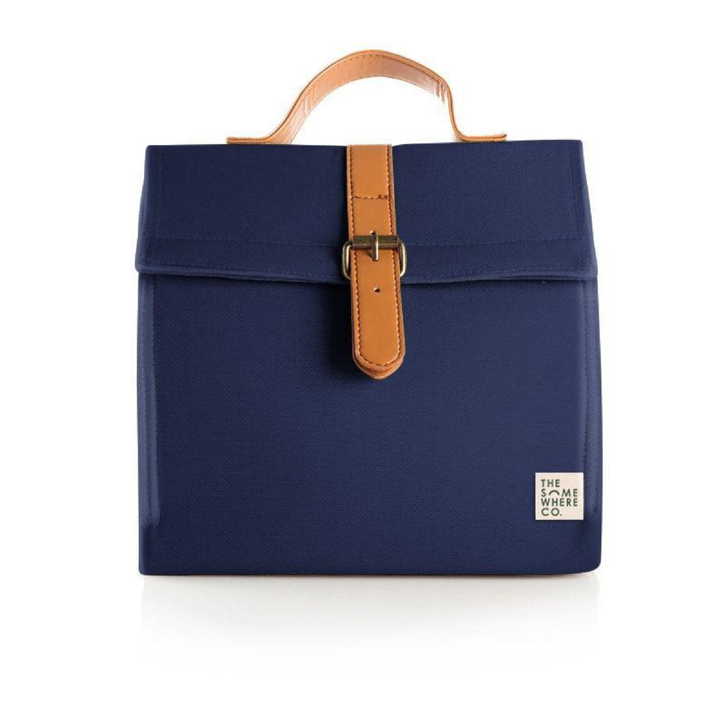 The Somewhere Co. Insulated Lunch Satchel - Midnight Snack