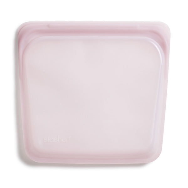 Stasher Sandwich Bag Rose Quartz