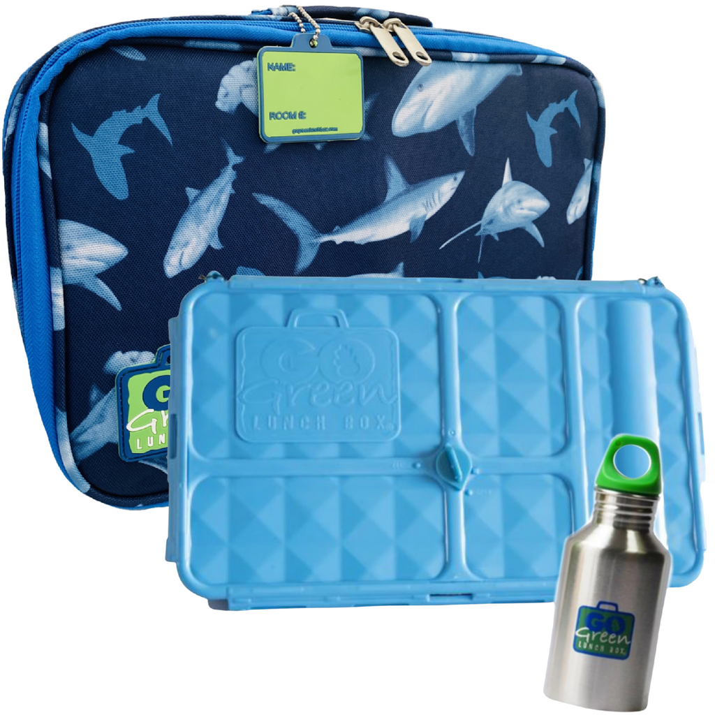 Go Green Lunch Box Set - Shark