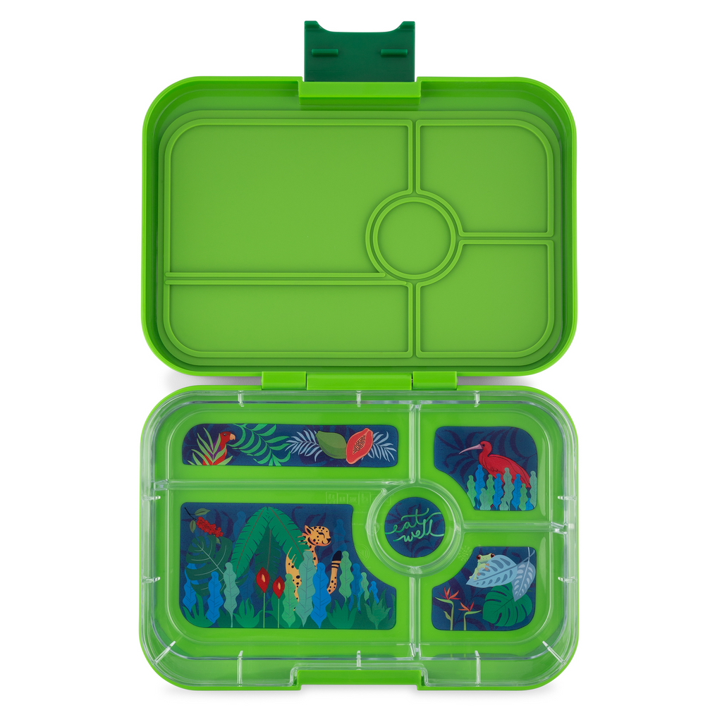 Yumbox Tapas Lunch Box 5 - Green Jungle