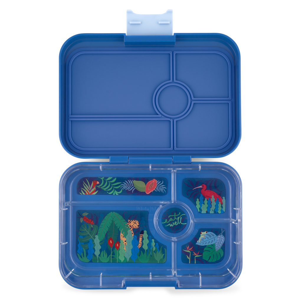 Yumbox Tapas Lunch Box 5 - Blue Jungle