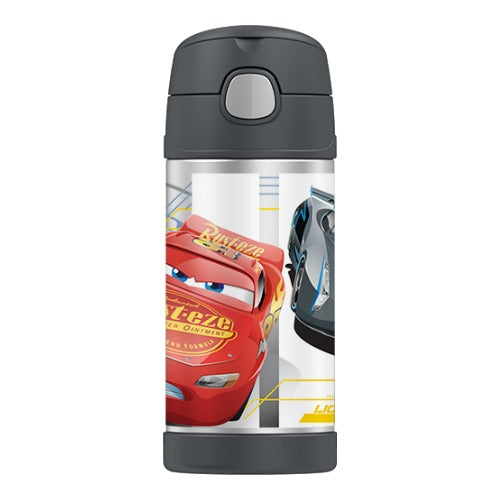 Thermos Funtainer Insulated Drink Bottle - Cars 3