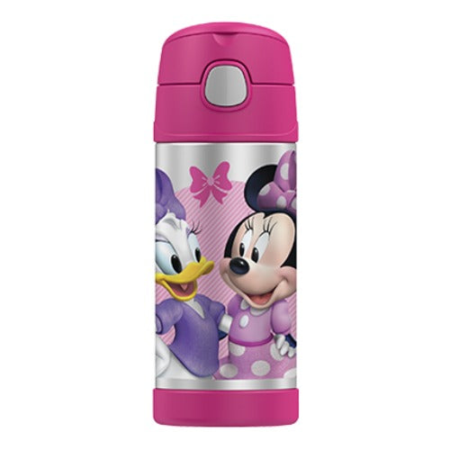 Thermos Funtainer Insulated Drink Bottle - Minnie Mouse