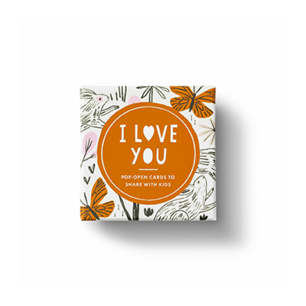 ThoughtFulls for Kids Pop Open Cards - I Love You
