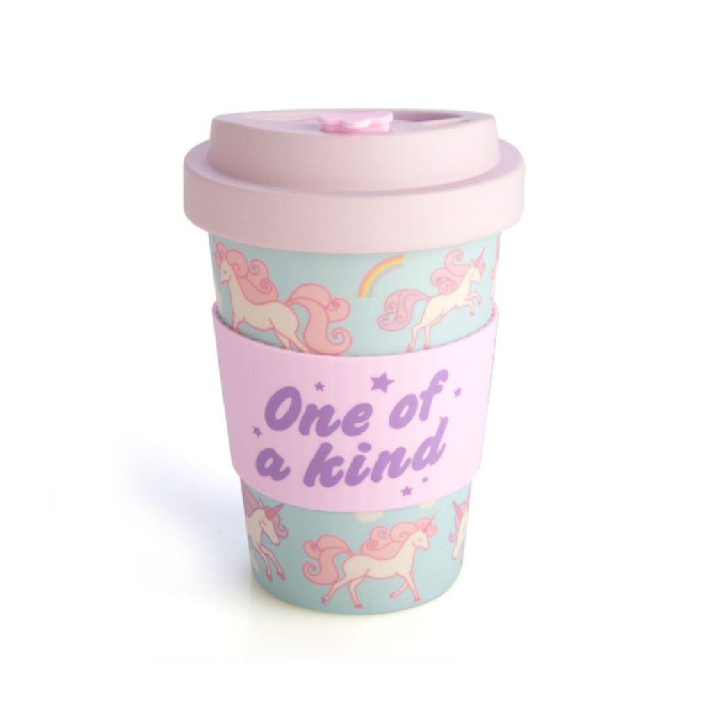 EcoGo Bamboo Travel Cup - Unicorn