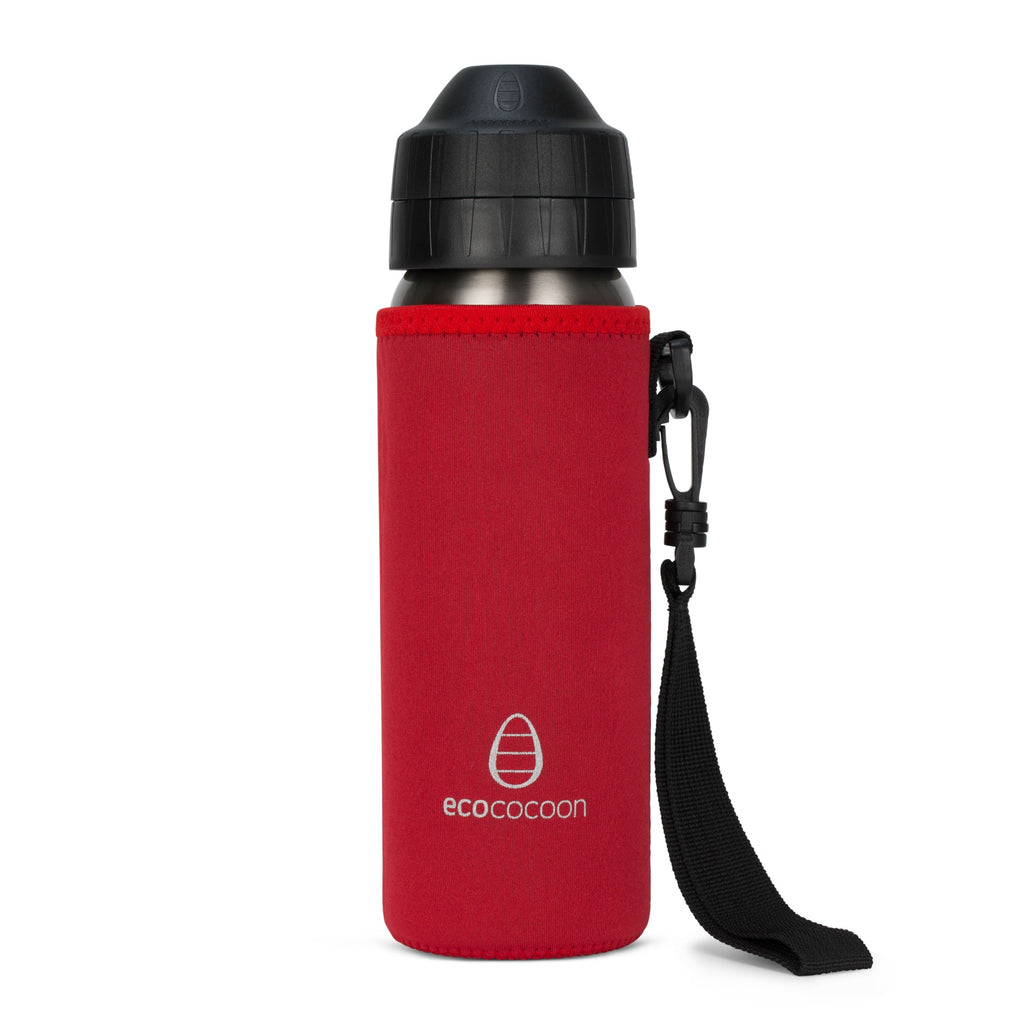 Ecococoon Bottle Cuddler 600ml - Red Ruby - LAST ONE!