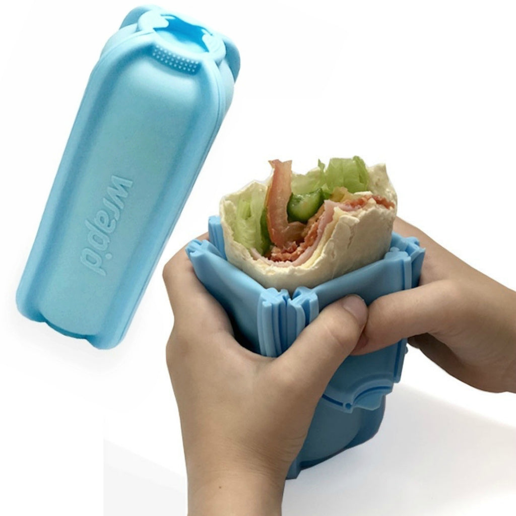 Wrap'd Silicone Wrap Holder - Blue