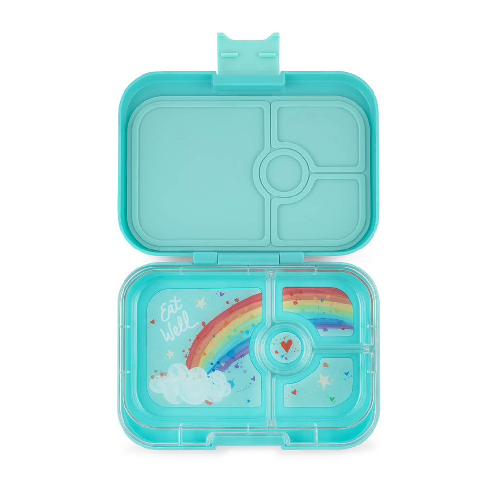 Yumbox Panino 4 Lunch Box - Misty Aqua