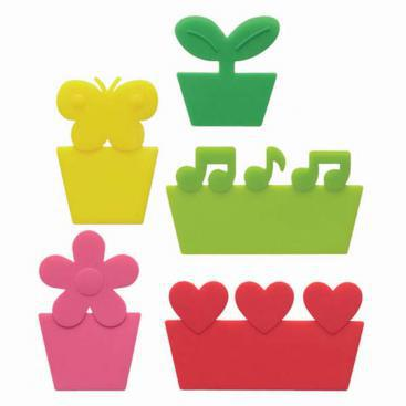 Rainbow of Colour Silicone Food Dividers