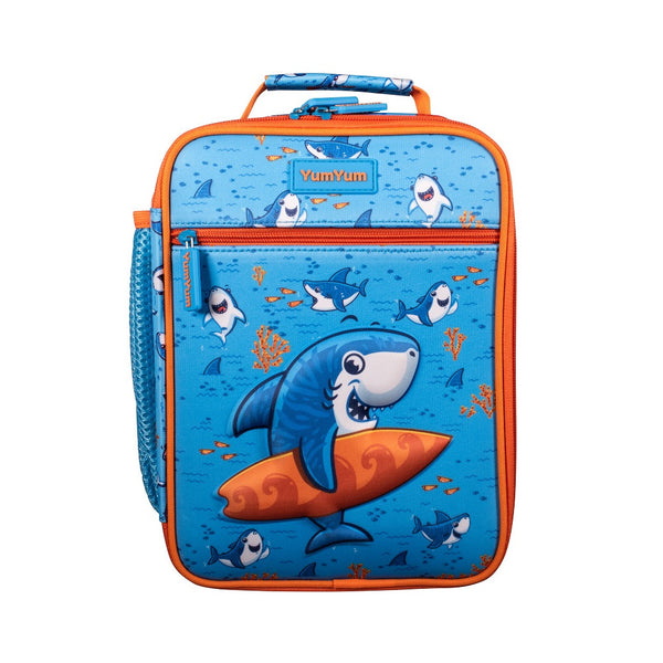 Avanti Yum Yum 3D Insulated Bag - Surfing Sharkie