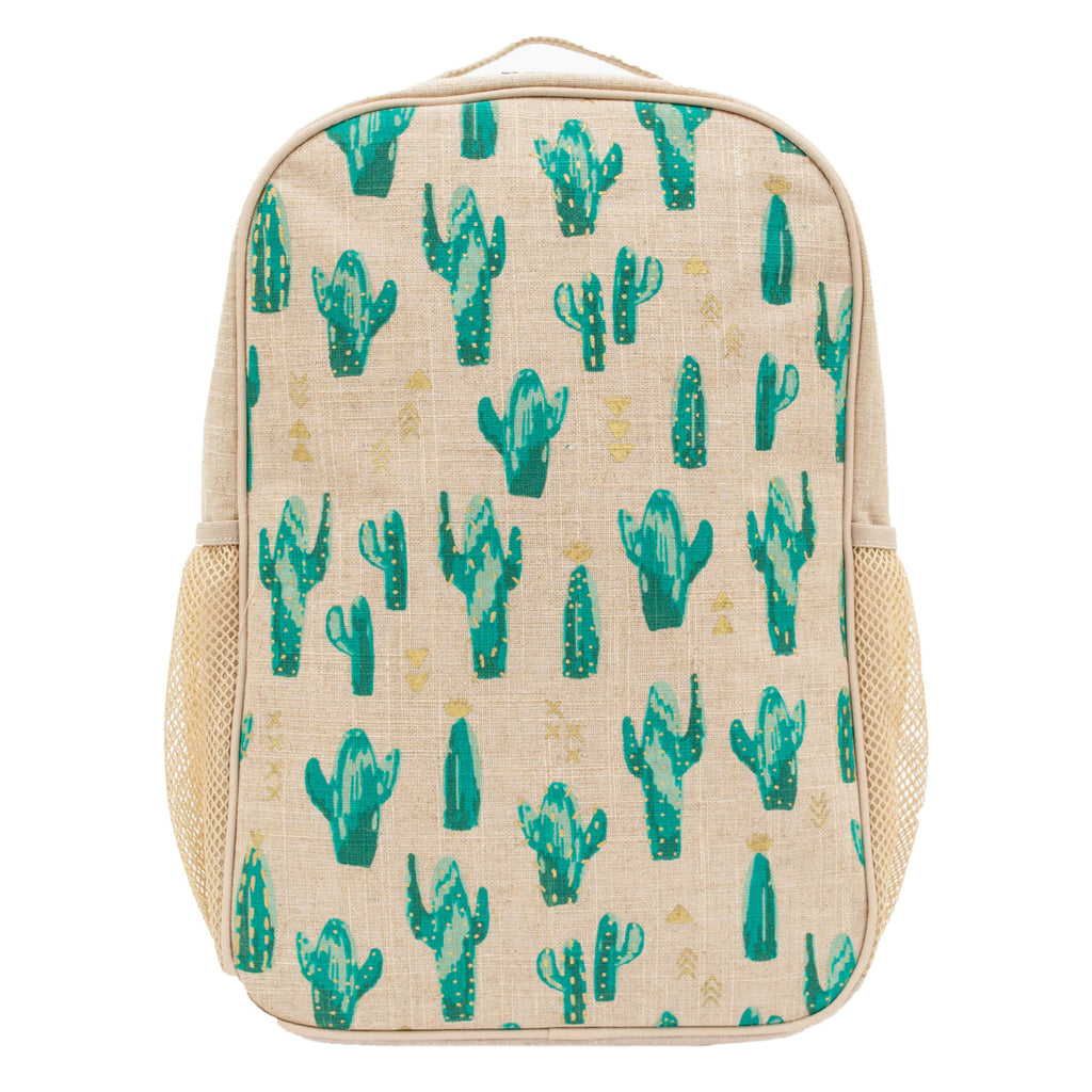 SoYoung School Backpack - Cacti Desert