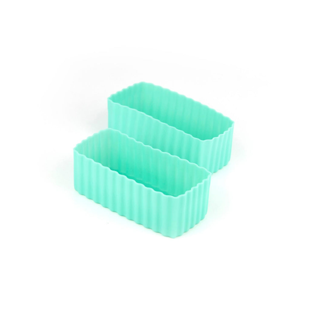 Little Lunch Box Co Rectangle Bento Cups - Mint