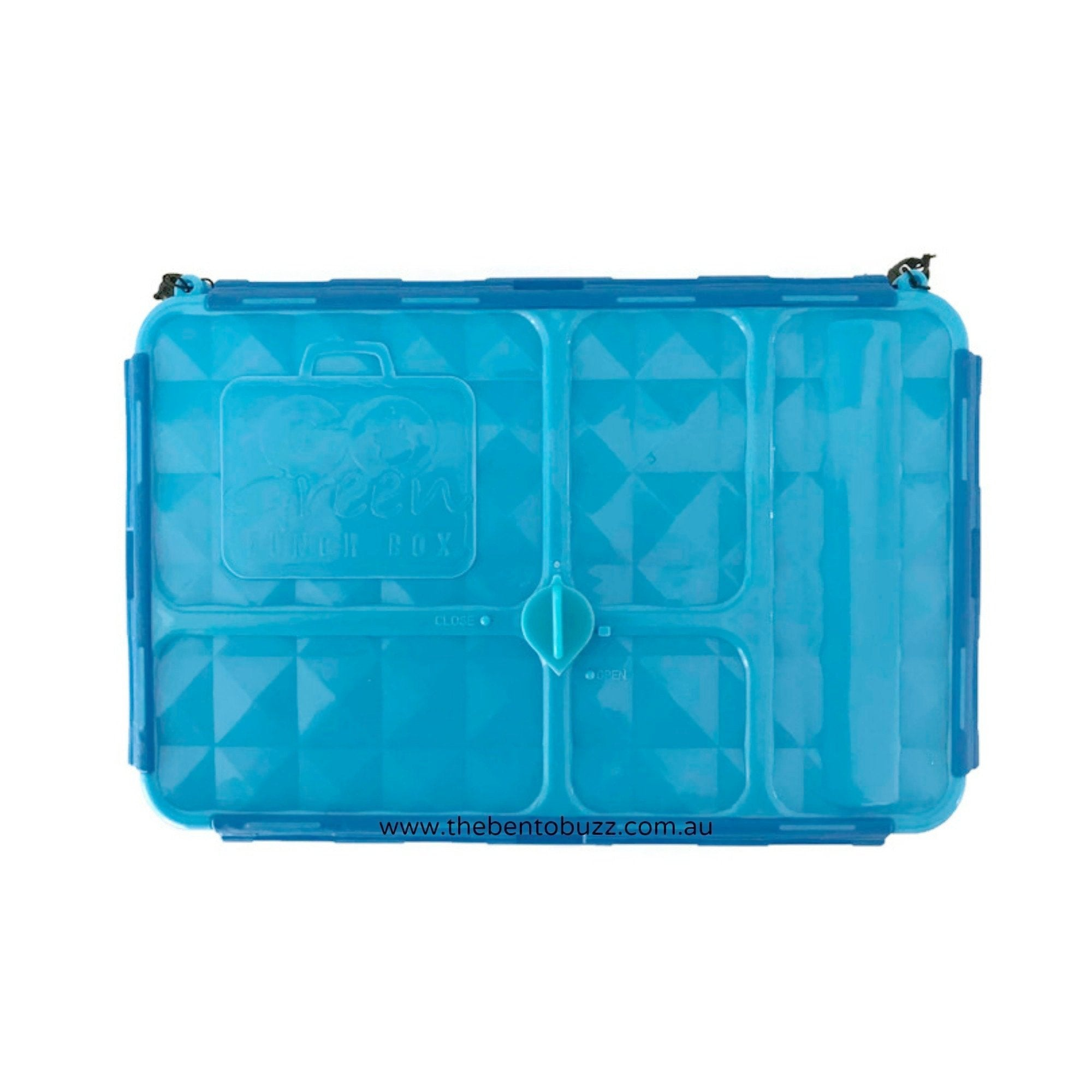 Go Green Lunch Box BLUE - Small