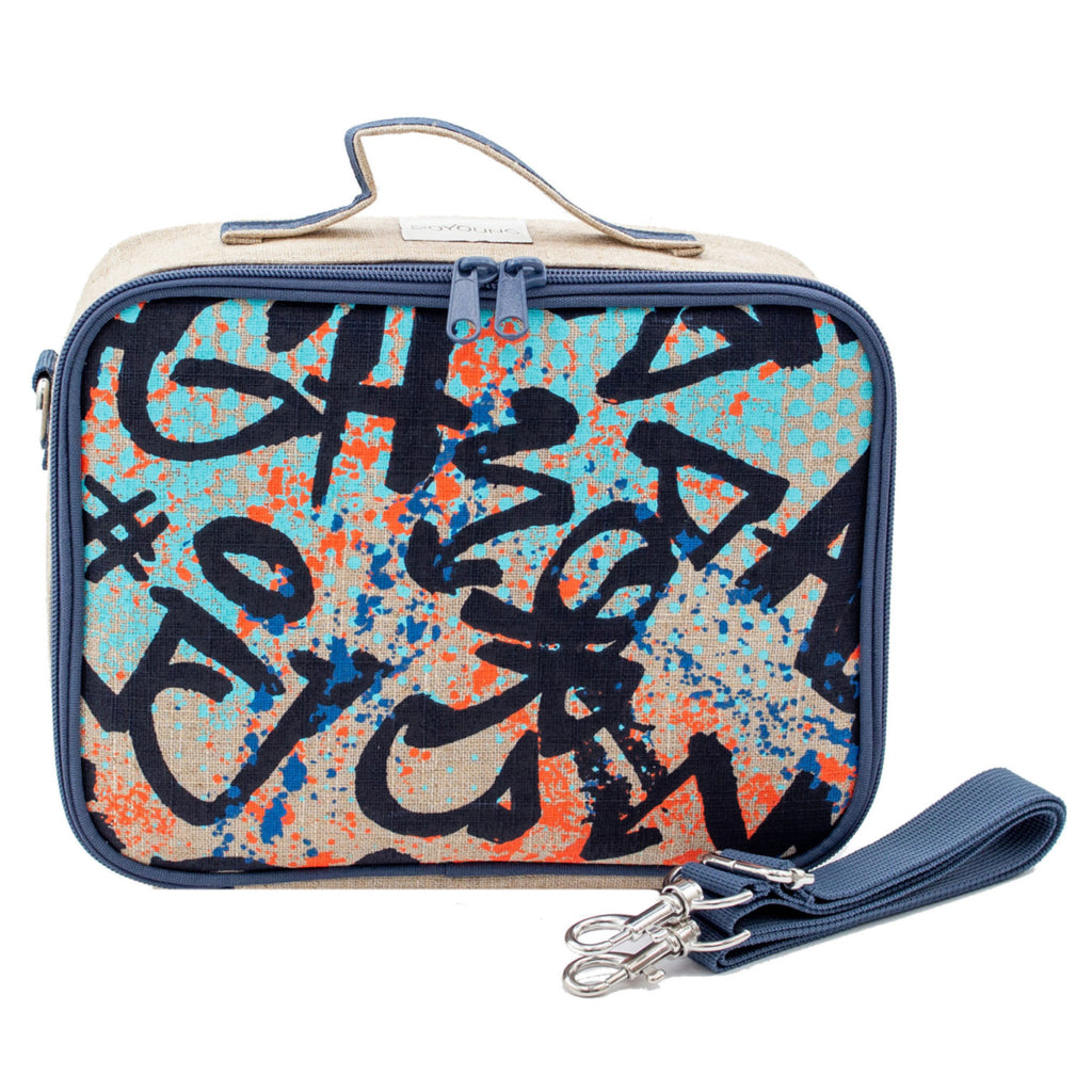 SoYoung Insulated Lunch Bag - Colourful Graffiti