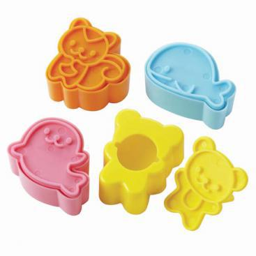 Animal Friends Bread Cutter & Stamp Set