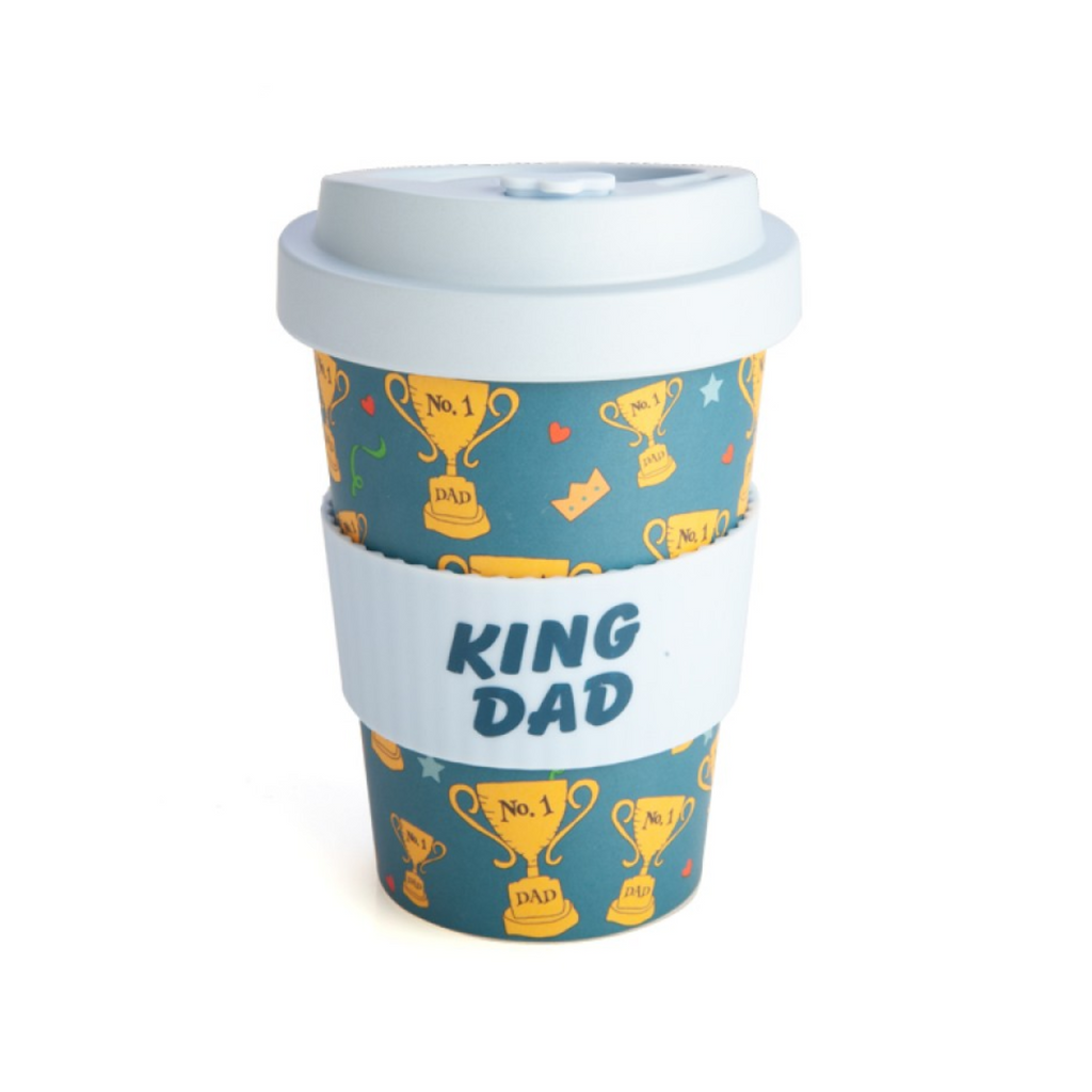 EcoGo Bamboo Travel Cup - King Dad
