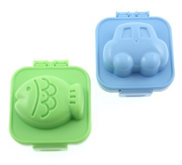 Car & Fish Boiled Egg Moulds