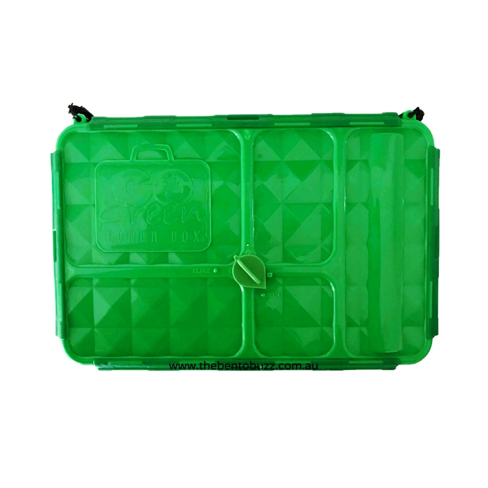 Go Green Lunch Box GREEN - Small