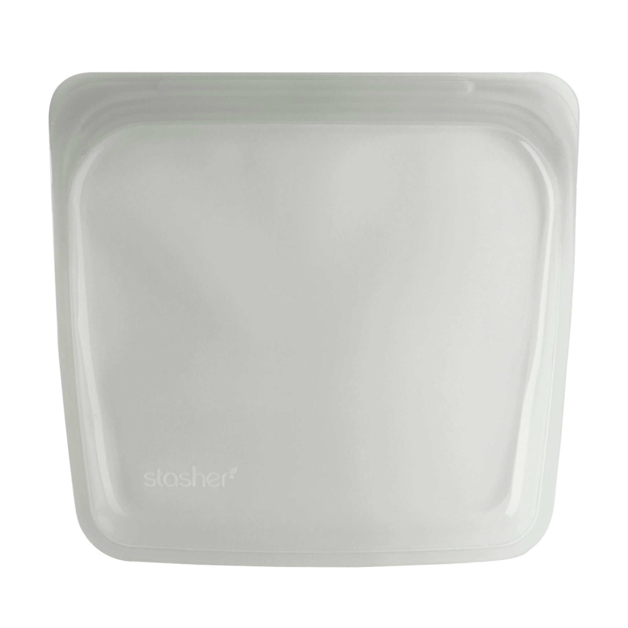 Stasher Reusable Silicone Bag - Sandwich - Clear
