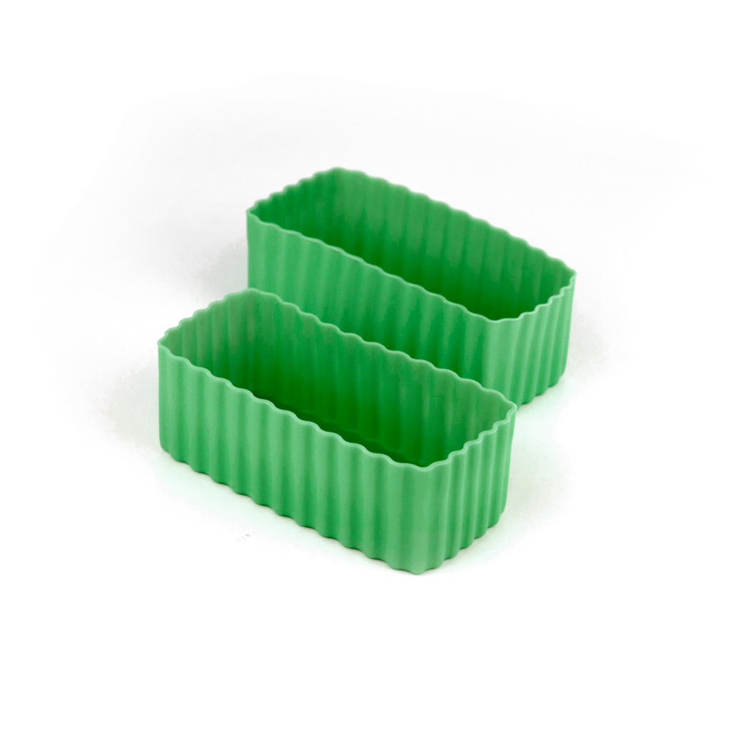 Little Lunch Box Co Rectangle Bento Cups - Green