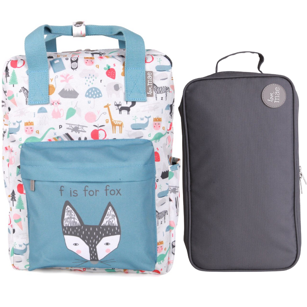 Love Mae Insulated Bag & Backpack Bundle - ABC