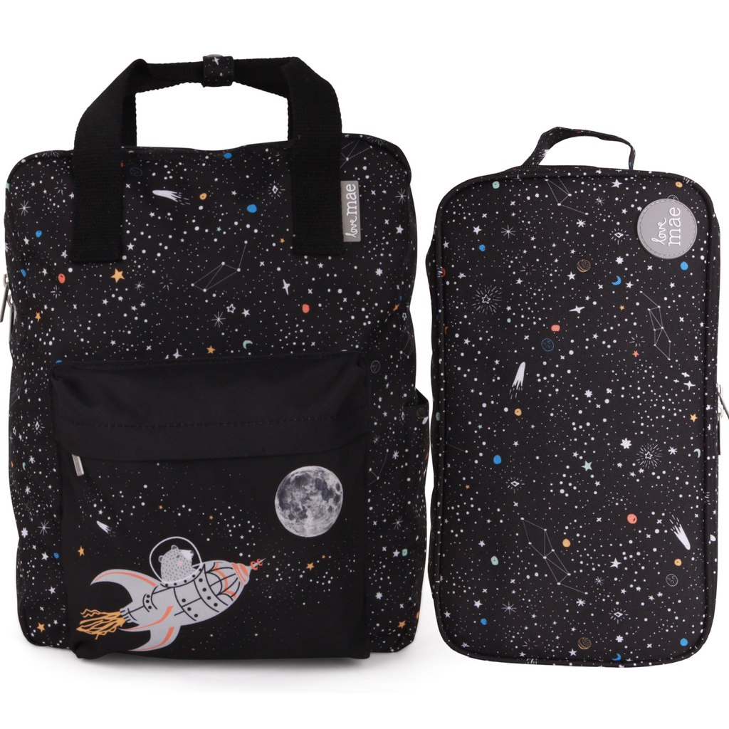Love Mae Insulated Bag & Backpack Bundle - Space Adventure