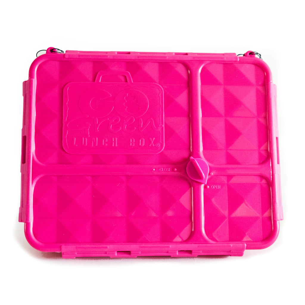 Go Green Lunch Box PINK - Medium