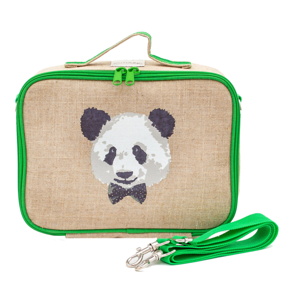 SoYoung Insulated Lunch Bag - Monsieur Panda - LAST ONE!