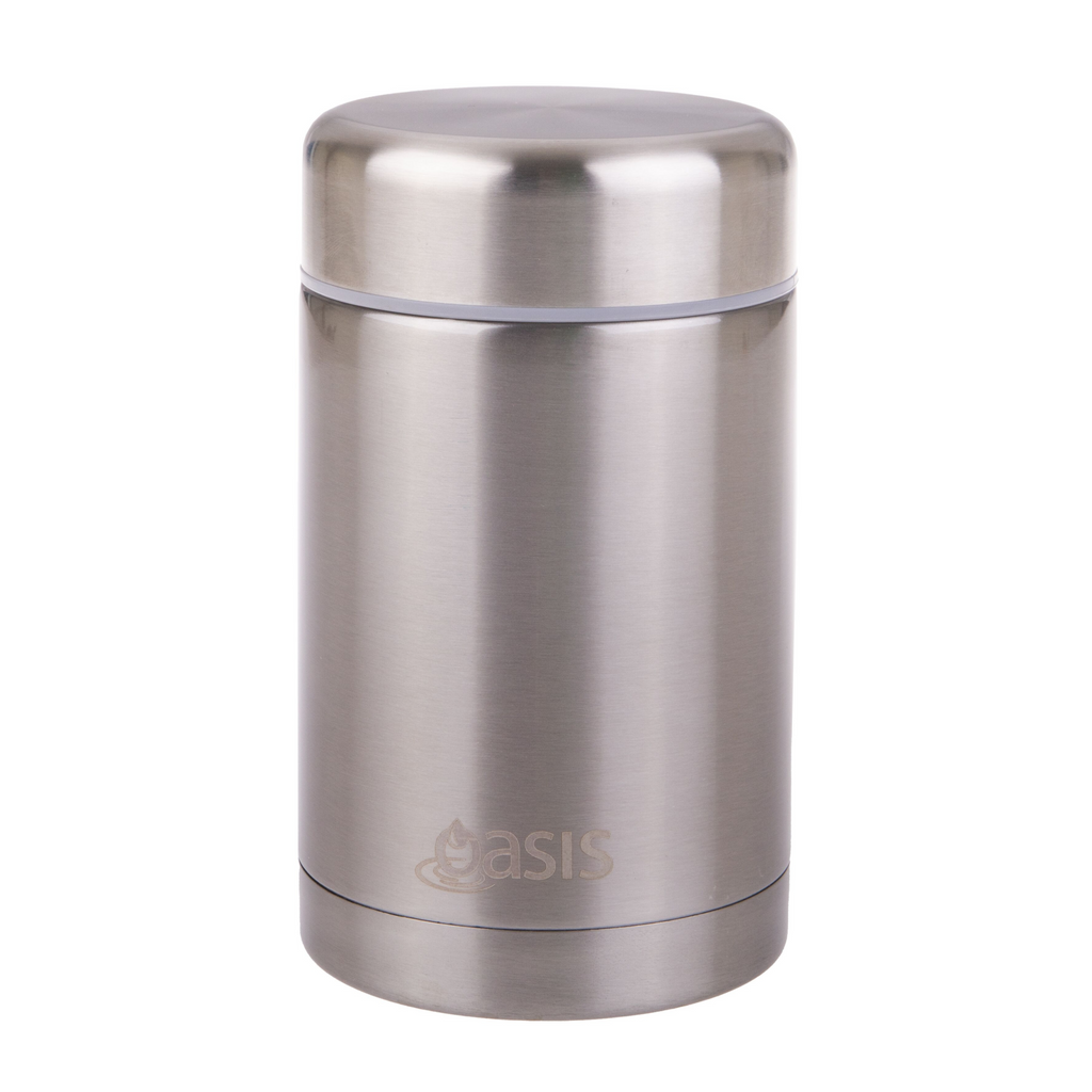 Oasis 450ml Insulated Food Jar - Stainless Steel