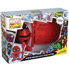 Spiderman Egg Cup & Toast Cutter