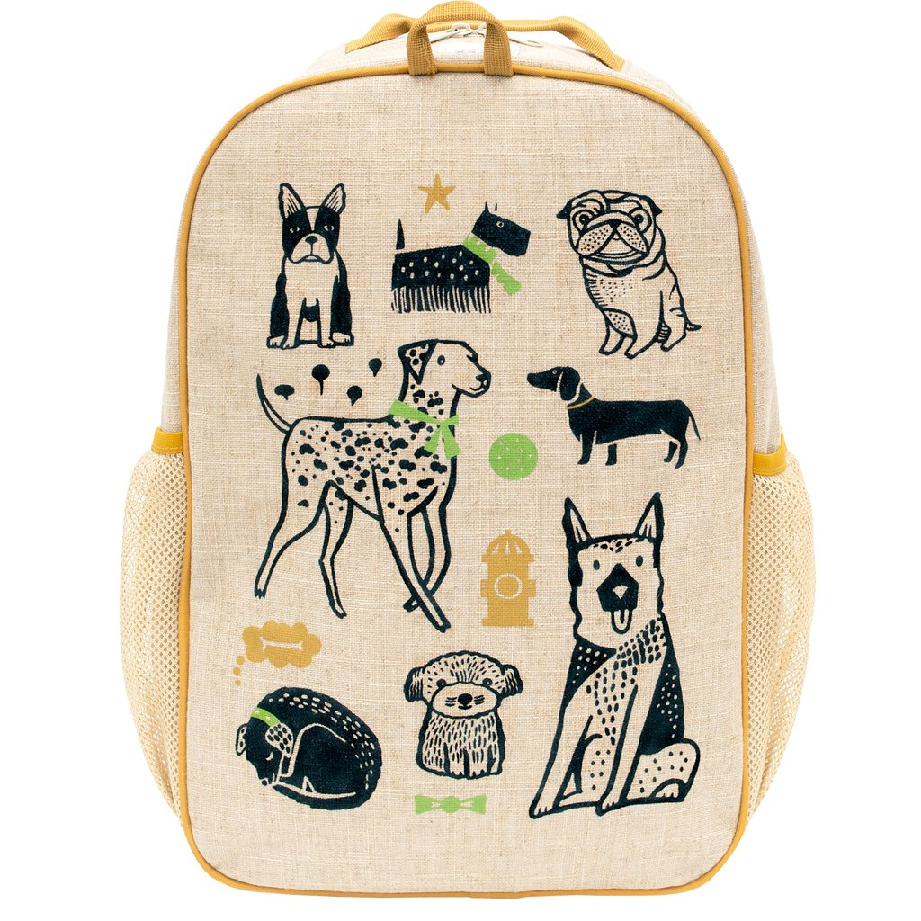 SoYoung Wee Gallery School Backpack - Pups - LAST ONE!