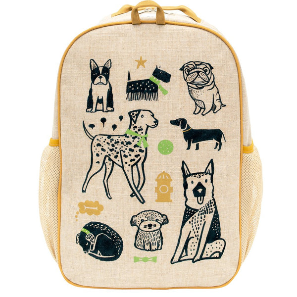 SoYoung Wee Gallery School Backpack - Pups