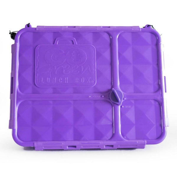 Go Green Lunch Box PURPLE - Medium