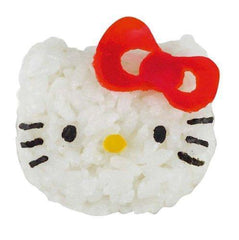 Hello Kitty Rice Mould & Cutter Set