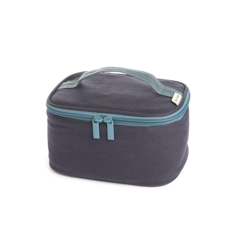 Seed & Sprout Organic Cotton Snacker Insulated Lunch Bag - Midnight