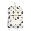 Sinchies Reusable Food Pouch - 10 Pack - Monochrome Droplets