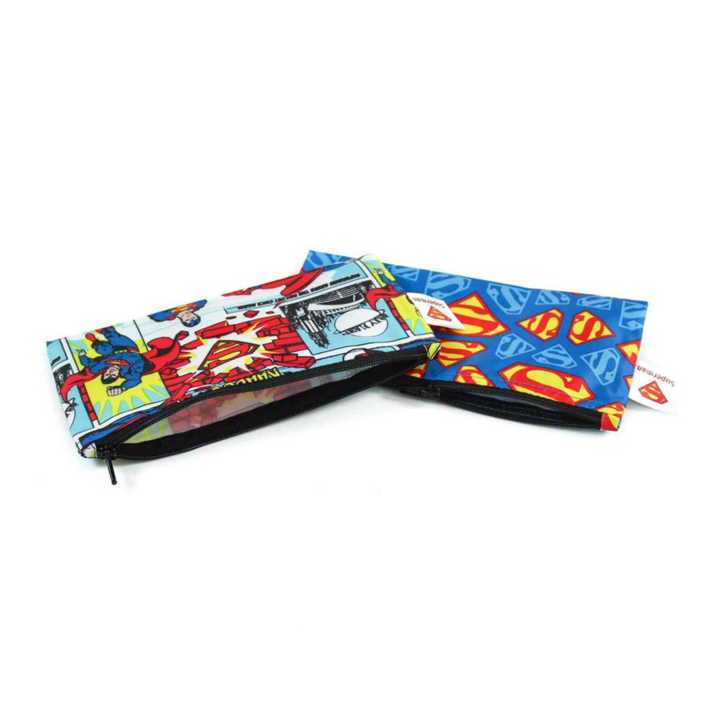 Bumkins small snack bag 2pk Superman
