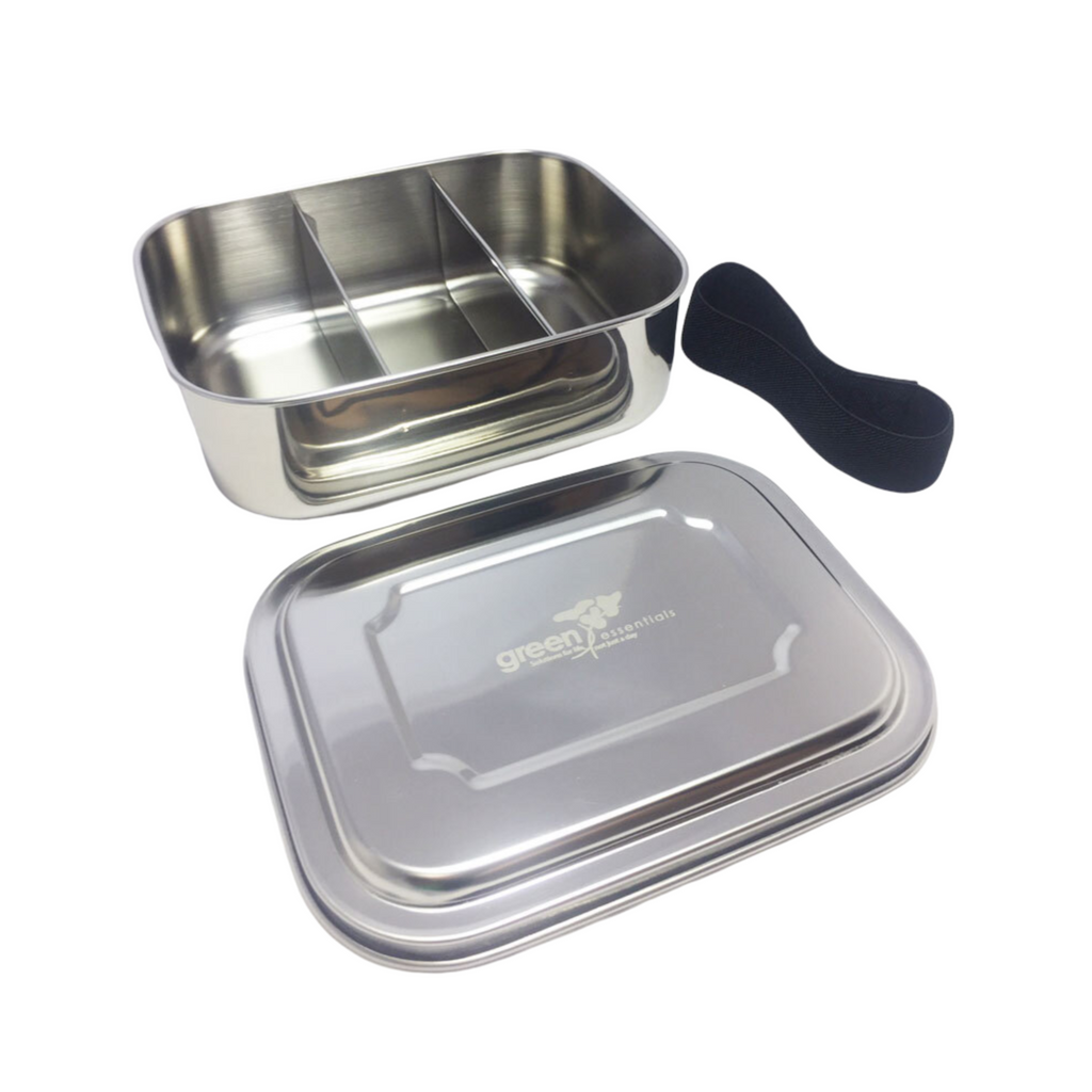 Snack-A-Bento Trio Stainless Steel Lunch Box
