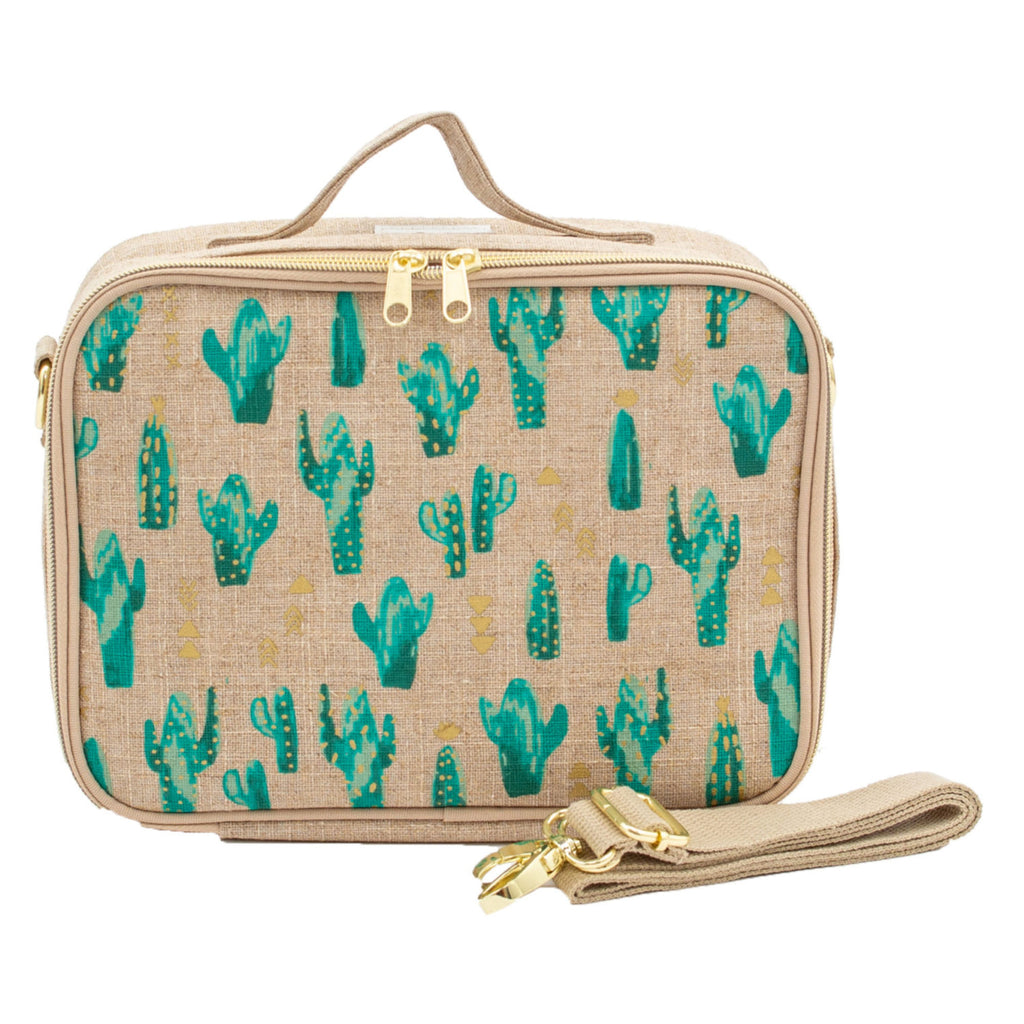 SoYoung Insulated Lunch Bag - Cacti Desert - LAST ONE!