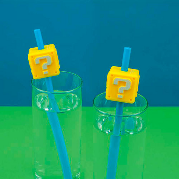Super Mario Reusable Straw Set